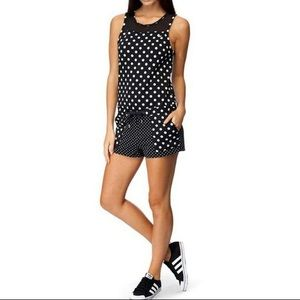 adidas Dots all in one jumpsuit playsuit romper